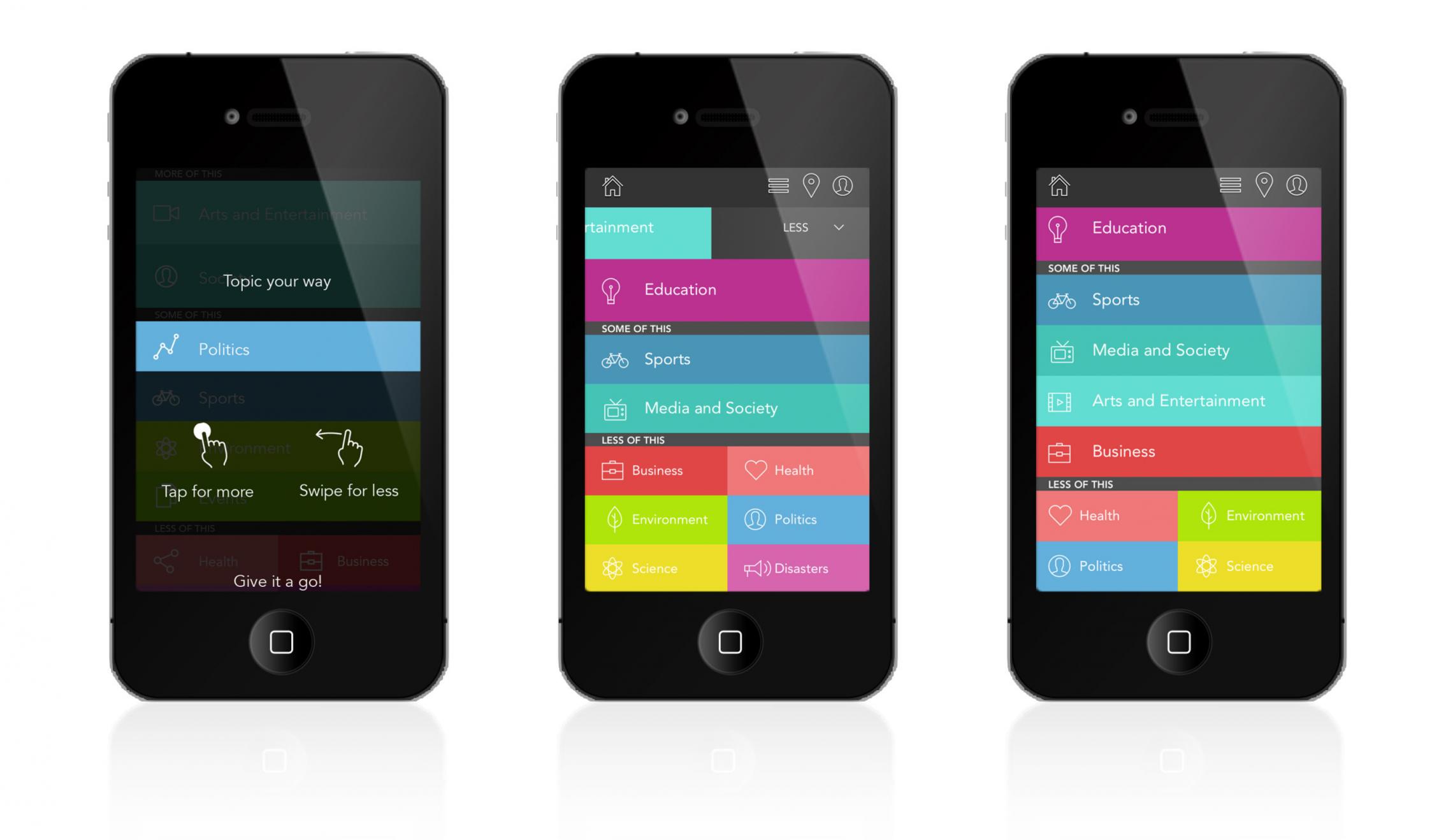 Spoke app design