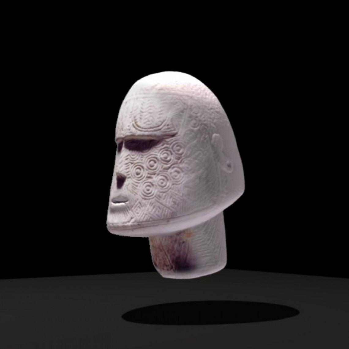 Carved Head visualisation